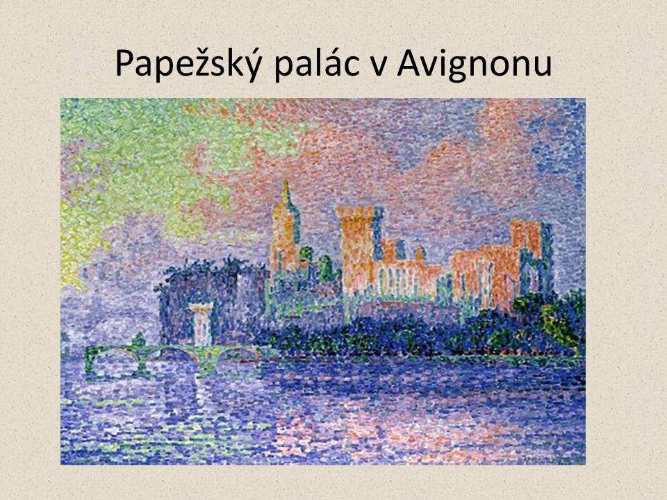 Papežský palác v Avignonu