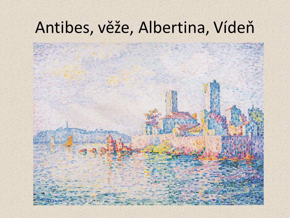 Antibes, věže, Albertina, Vídeň