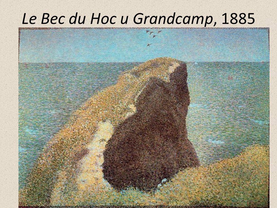 Le Bec du Hoc u Grandcamp, 1885