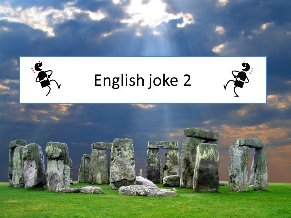 English joke 2