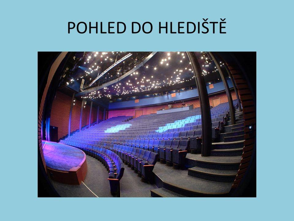 POHLED DO HLEDIŠTĚ