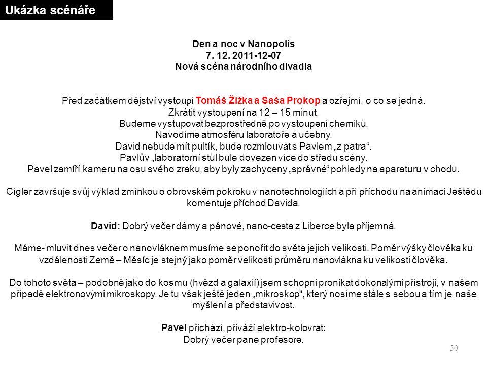 30 Den a noc v Nanopolis 7. 12.