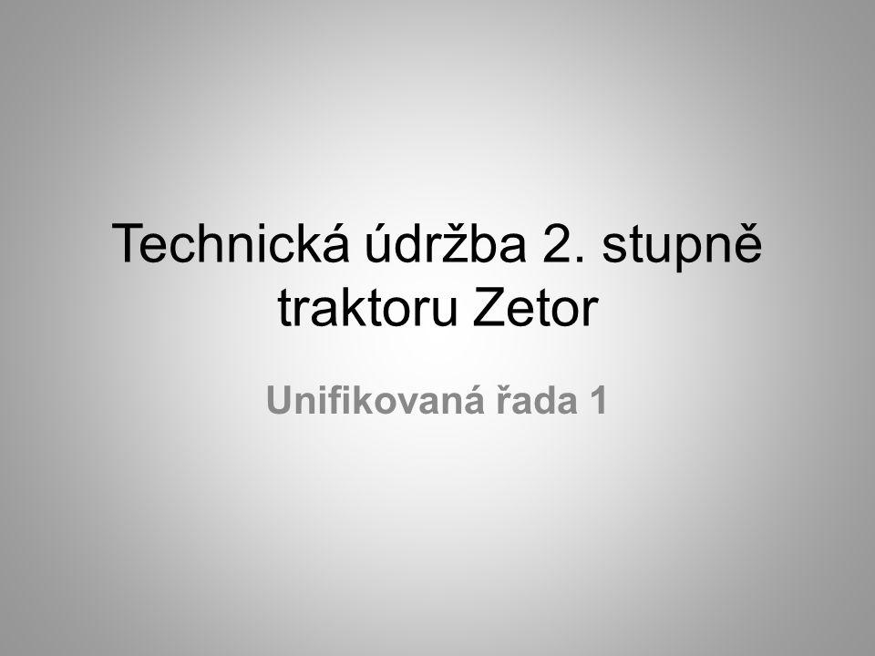 Perioda technické údržby 2.