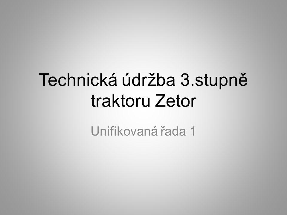  Perioda technické údržby 3.