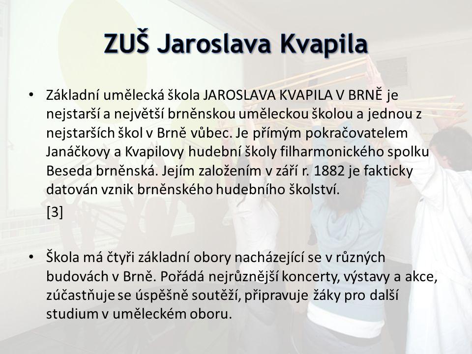 Základní umělecká škola JAROSLAVA KVAPILA V BRNĚ je nejstarší a největší brněnskou uměleckou školou a jednou z nejstarších škol v Brně vůbec. Je přímý