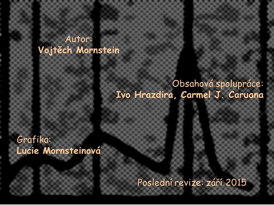 Autor: Vojtěch Mornstein Obsahová spolupráce: Ivo Hrazdira, Carmel J.