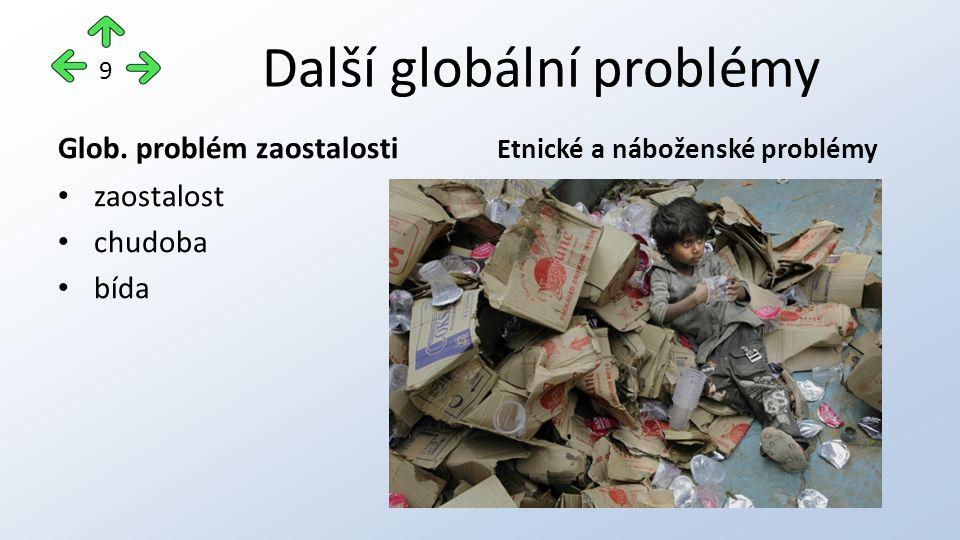 Další globální problémy Glob.