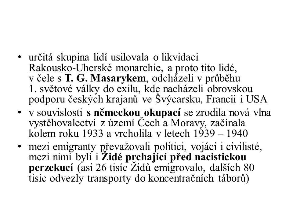 určitá skupina lidí usilovala o likvidaci Rakousko-Uherské monarchie, a proto tito lidé, v čele s T.
