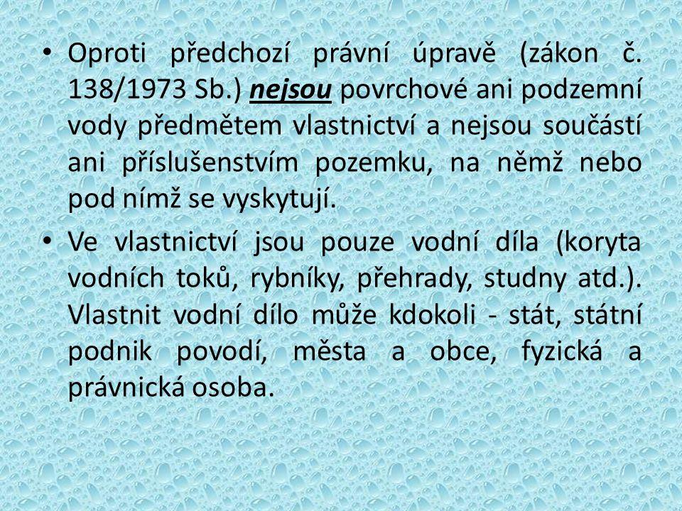 Oproti předchozí právní úpravě (zákon č.
