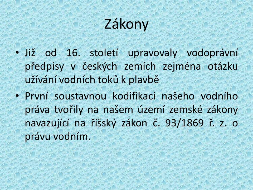 Na našem území to byl český zákon zemský č.71/1870 čes.