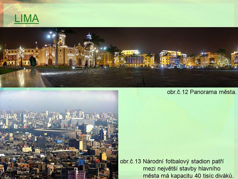 LIMA obr.č.12 Panorama města.