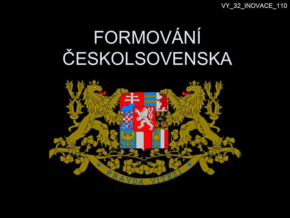 Vznik Československa 28.10.1918