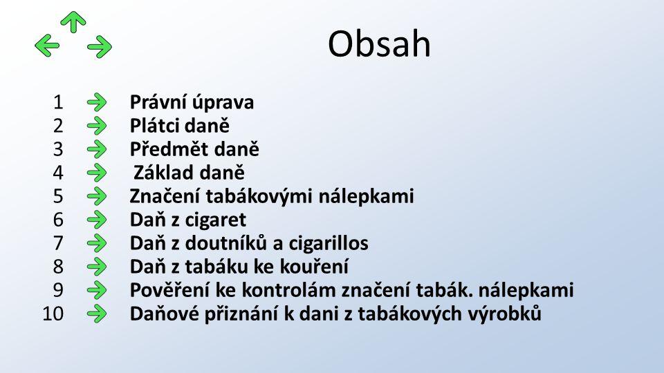 Právní úprava: Zákon č.
