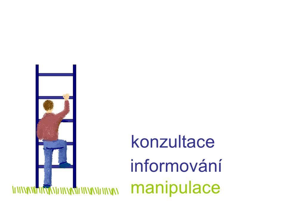 manipulace informování konzultace