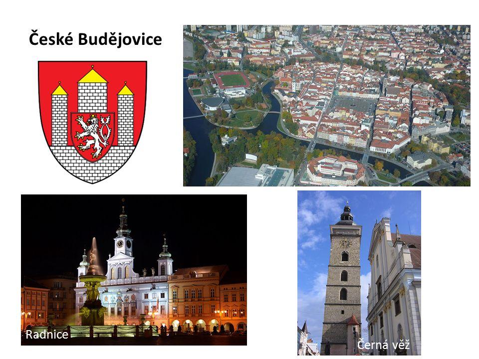 České Budějovice Radnice Černá věž