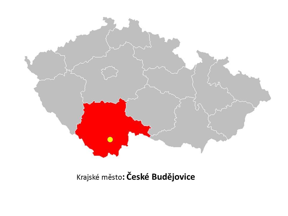 Krajské město : České Budějovice