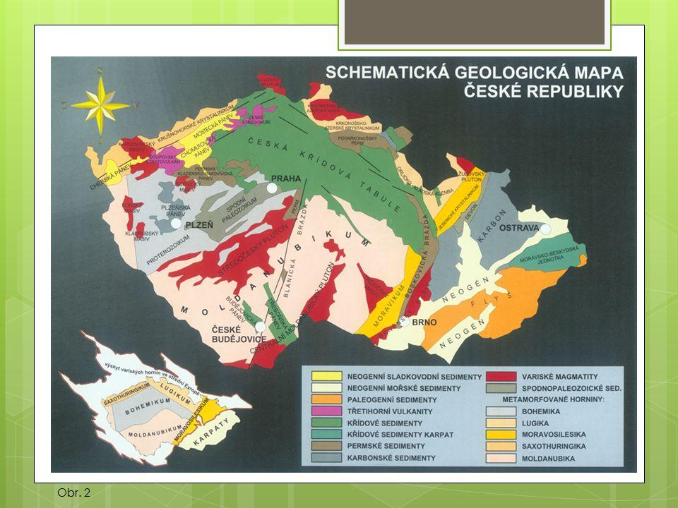 Reliéf  endogenní činitelé - vrásnění - vulkanismus – Doupovské hory, České středohoří  exogenní činitelé - eroze