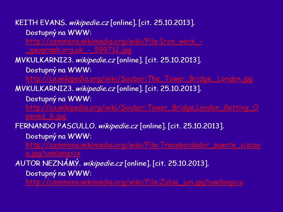 KEITH EVANS. wikipedie.cz [online]. [cit. 25.10.2013]. Dostupný na WWW: http://commons.wikimedia.org/wiki/File:Iron_work_- _geograph.org.uk_-_599712.j