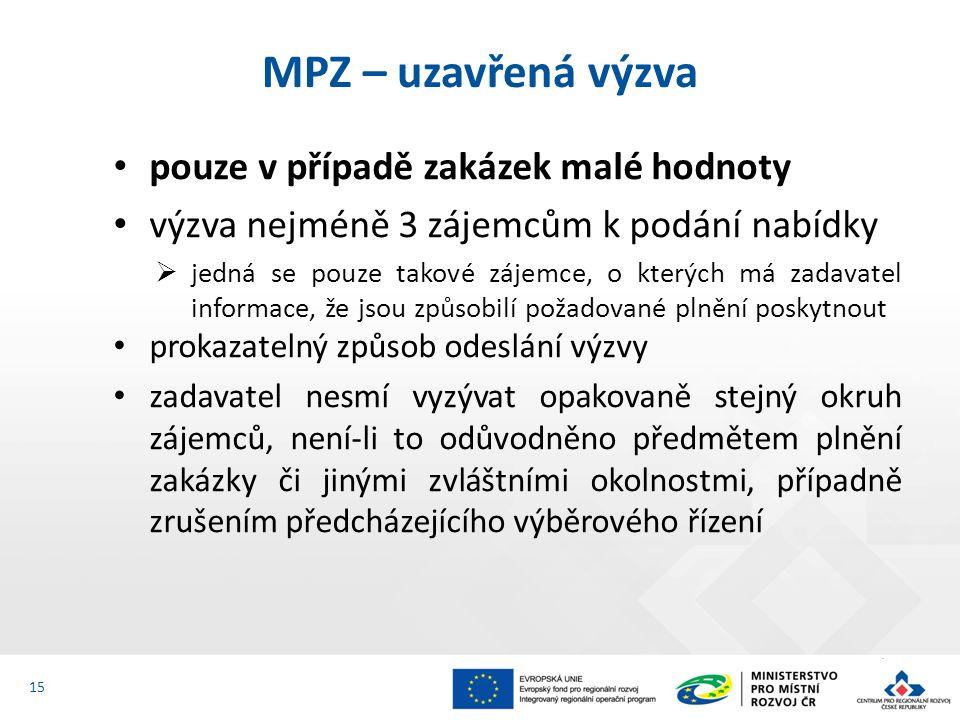 Lhůta stanovená podle tohoto MPZ (bod 7.3.2) počíná dnem, který následuje po události, jež je rozhodující pro její počátek.