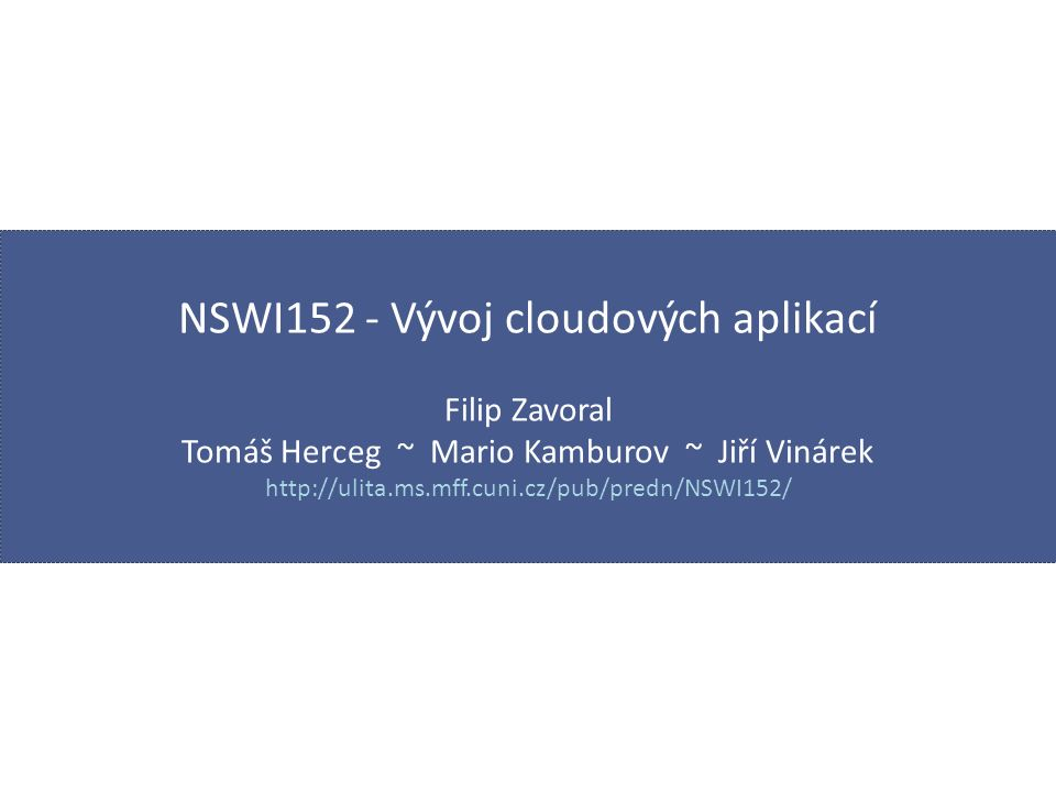 IBM CloudFoundry / BlueMix