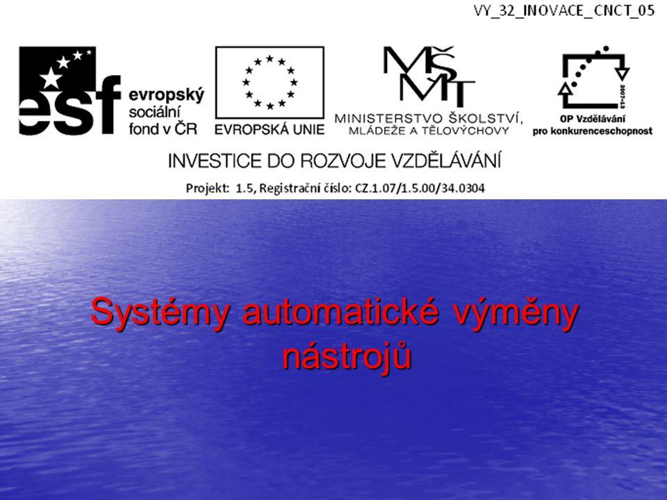 Hlavní přínos systémů AVN: možnost automaticky řídit komplexní obrábění celého obrobku na daném stroji zkracují se vedlejší časy na výměnu nástroje systémy umožňují vícestrojovou obsluhu Základní rozdělení systémů AVN systémy s nosnými zásobníky systémy s nosnými zásobníky systémy se skladovacími zásobníky systémy se skladovacími zásobníky