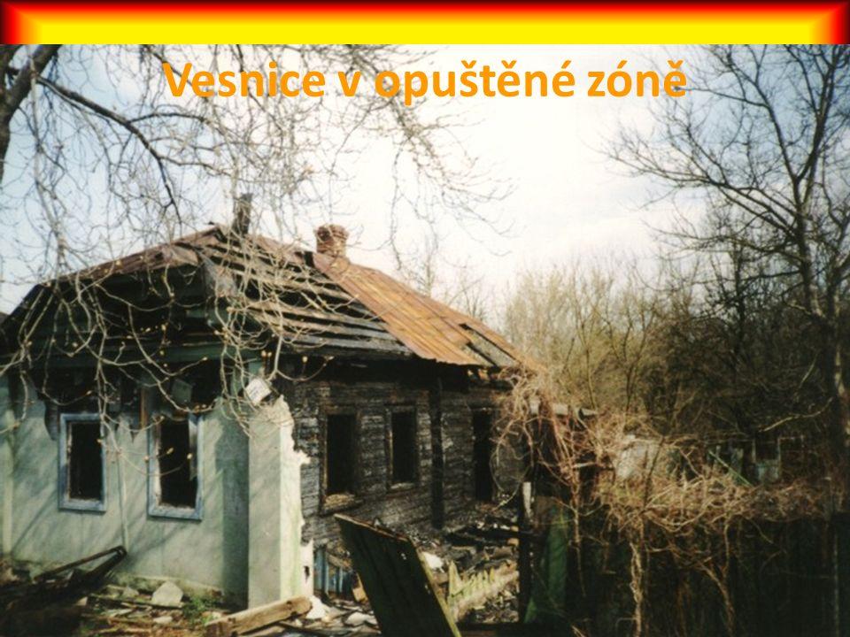 Vesnice v opuštěné zóně