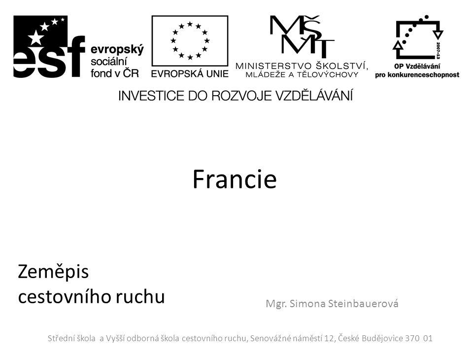 Hospodářství Francie je vyspělý stát s výkonným průmyslem a rozvinutým zemědělstvím.