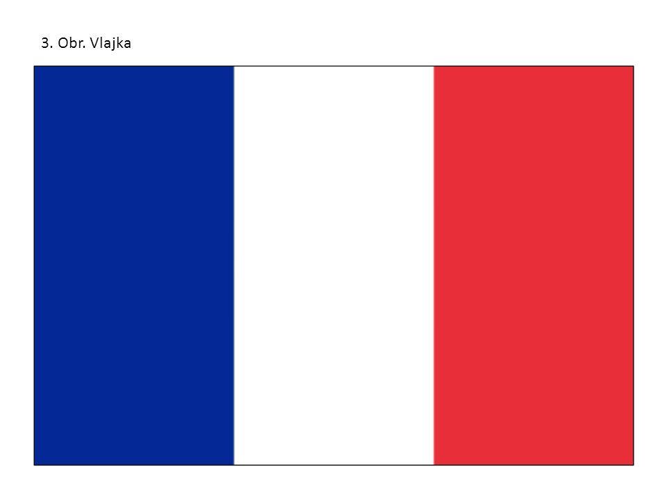 Francie republika 3. Obr. Vlajka
