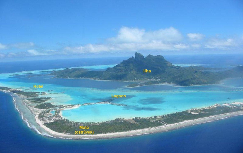 Ilha Motu (ostrůvek) Lagoon Hotel