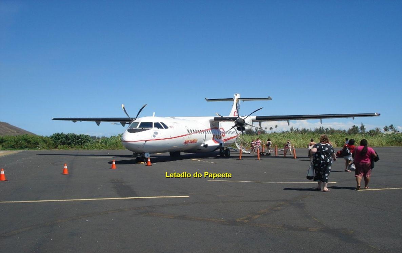 Letadlo do Papeete