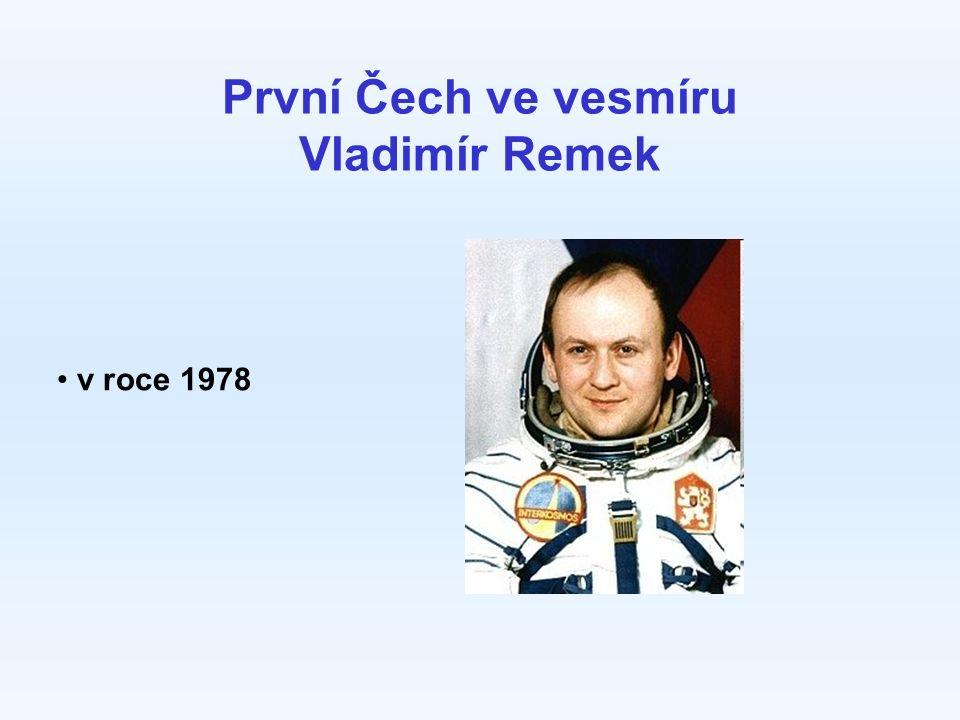 První Čech ve vesmíru Vladimír Remek v roce 1978