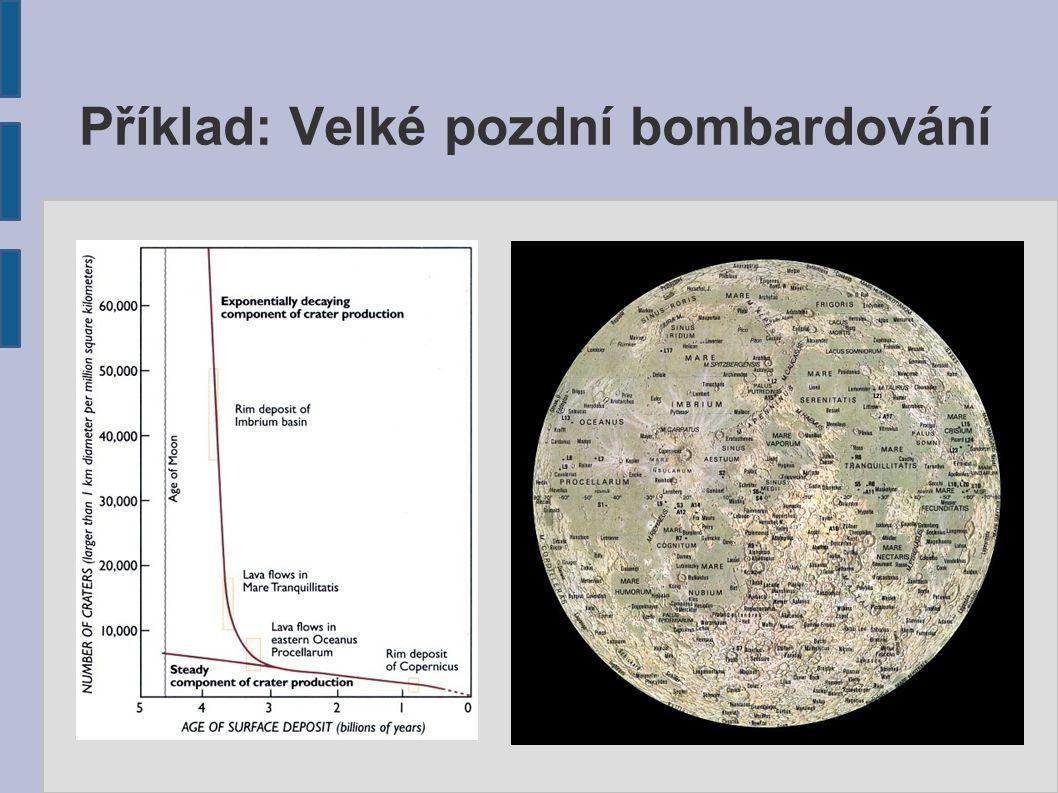 Příklad: Velké pozdní bombardování