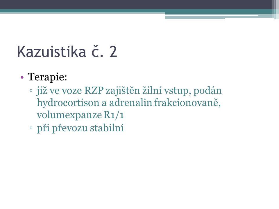 Kazuistika č.