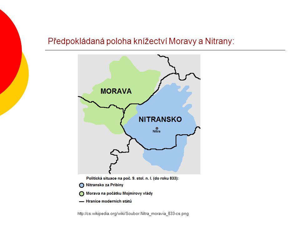 Vyvrácení domněnek o důvodech pozvání věrozvěstů A) šíření křesťanství - Velká Morava byla christianizována již v roce 830 za vlády Mojmíra I.