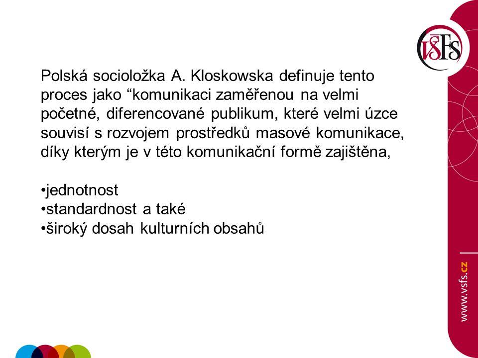 Polská socioložka A.