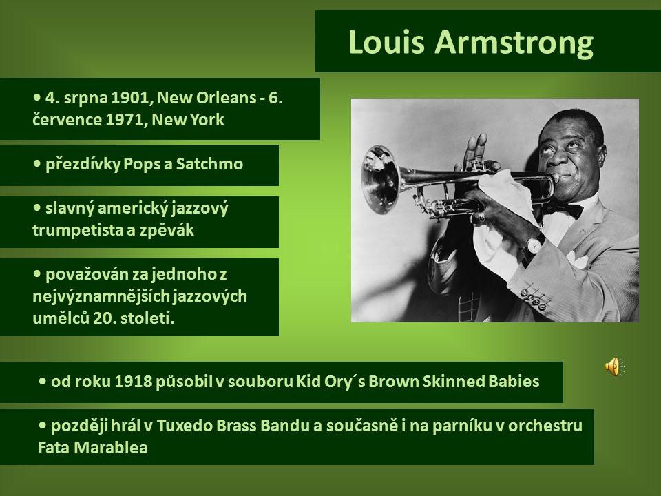 4.srpna 1901, New Orleans - 6.