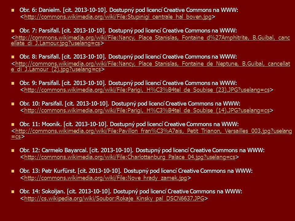 Obr. 6: Danielm. [cit. 2013-10-10]. Dostupný pod licencí Creative Commons na WWW: Obr. 6: Danielm. [cit. 2013-10-10]. Dostupný pod licencí Creative Co