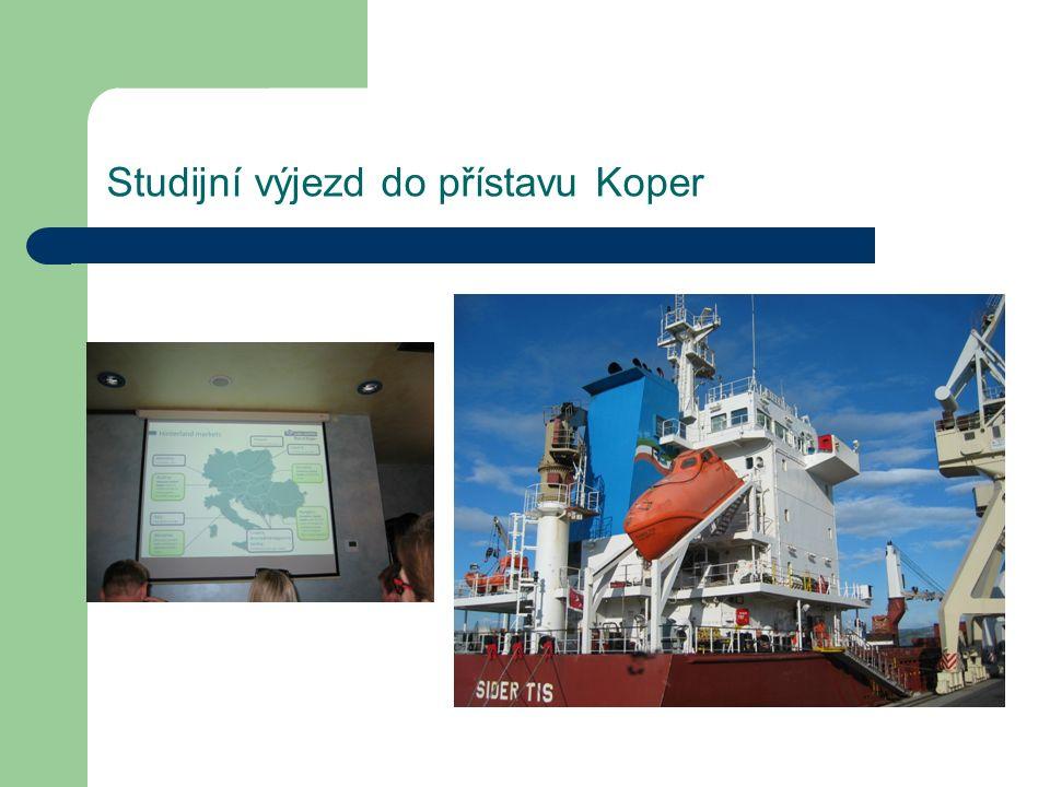 Studijní výjezd do přístavu Koper