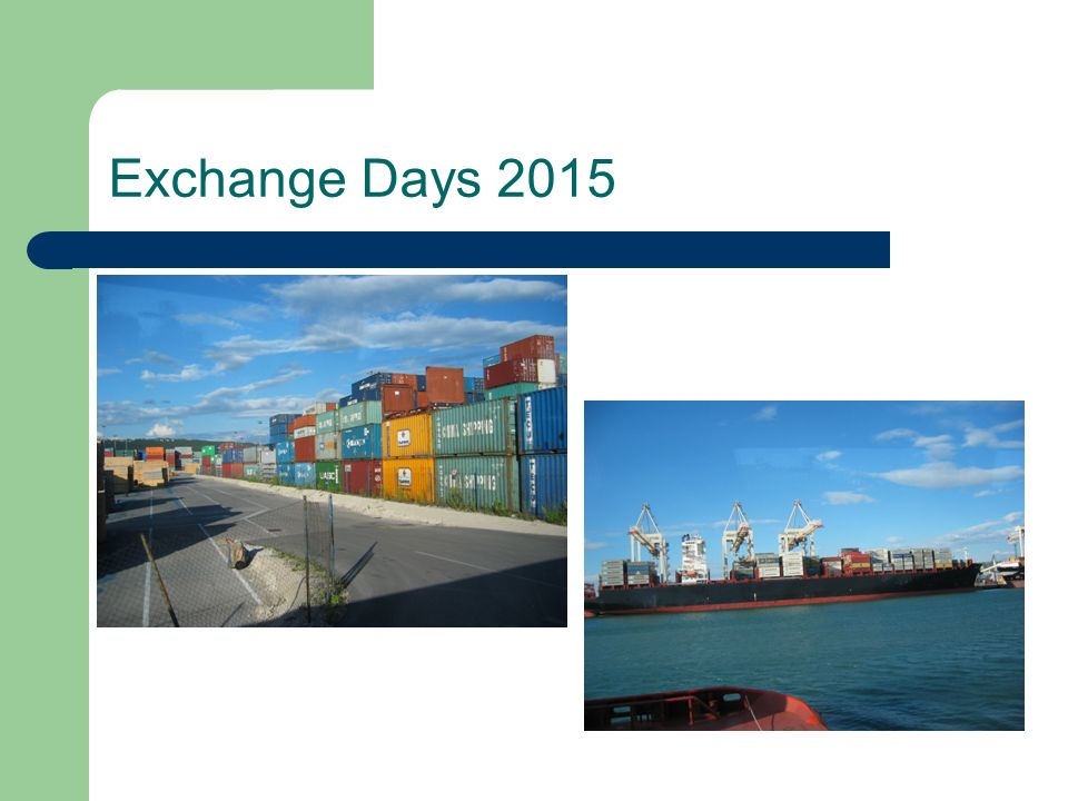 Exchange Days 2015