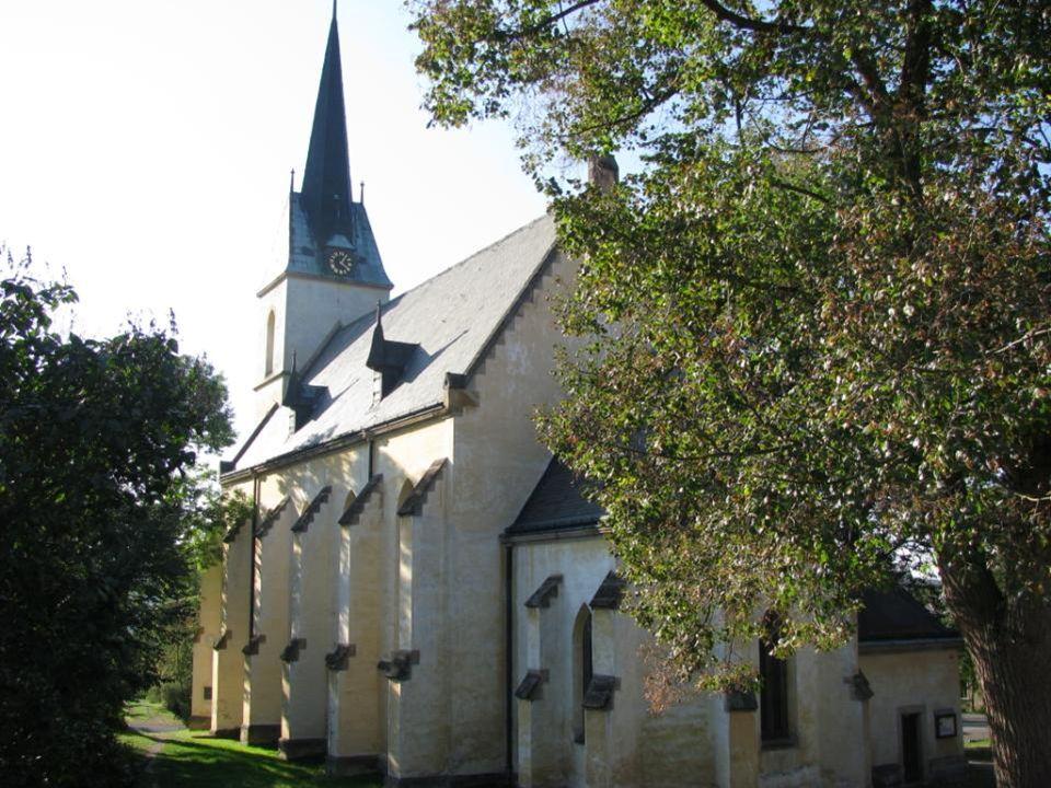 Městys Křivoklát – významný kostel sv.