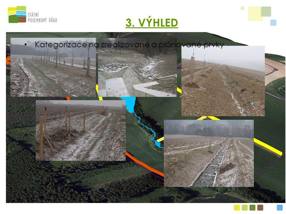 Permanent grassland Polní cesta s výsadbou Ochranná nádrž Svodný průleh Záchytný průleh 3.