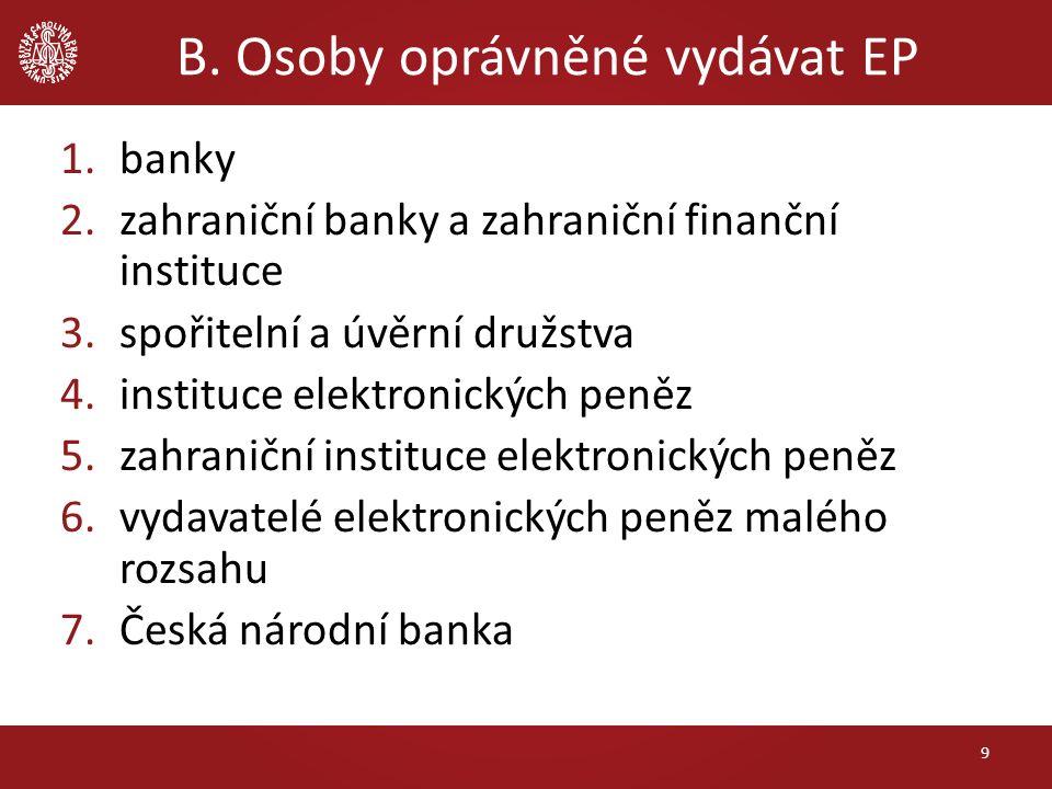 E.Platební systémy def.
