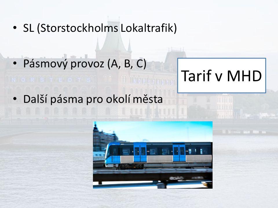 Papírové jízdenky a SMS jízdenky 25 SEK za 1 pásmo, – 36 za SMS, – nebo v aplikaci Automaty ve stanicích metra a na vybraných autobusových zastávkách Odbavení u řidiče