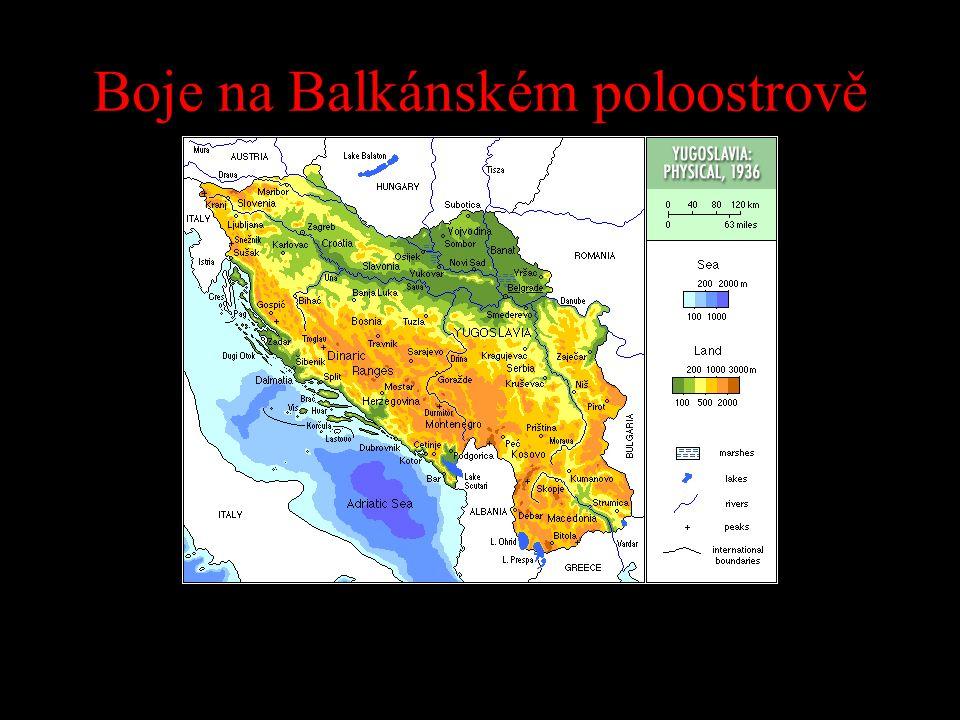 Boje na Balkánském poloostrově