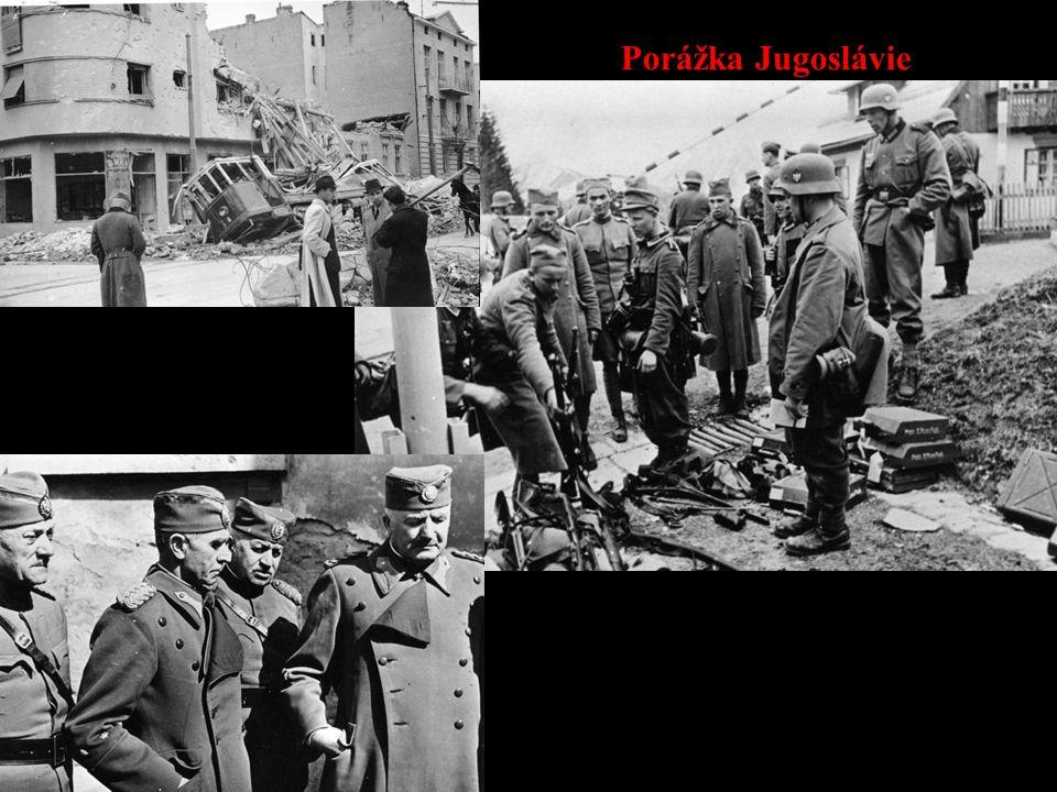 Porážka Jugoslávie