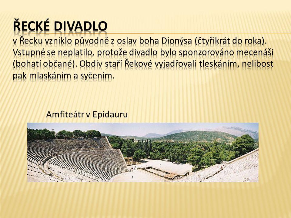 Amfiteátr v Epidauru