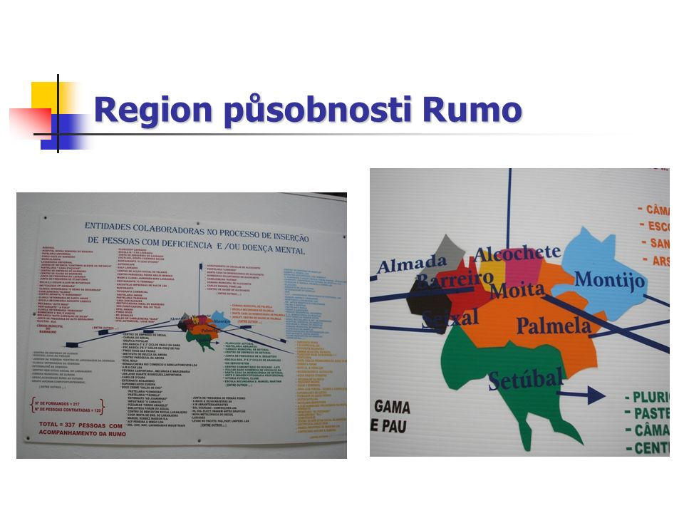 Region působnosti Rumo