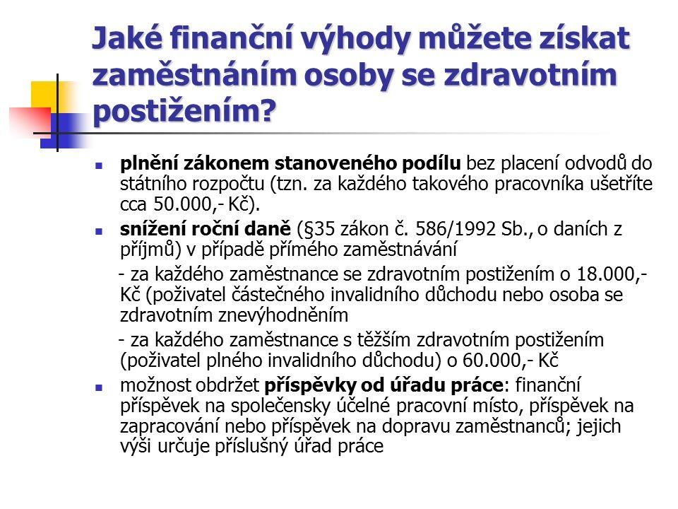 Financování a legislativní zakotvení PZ Pracovní rehabilitace – dle zákona č.
