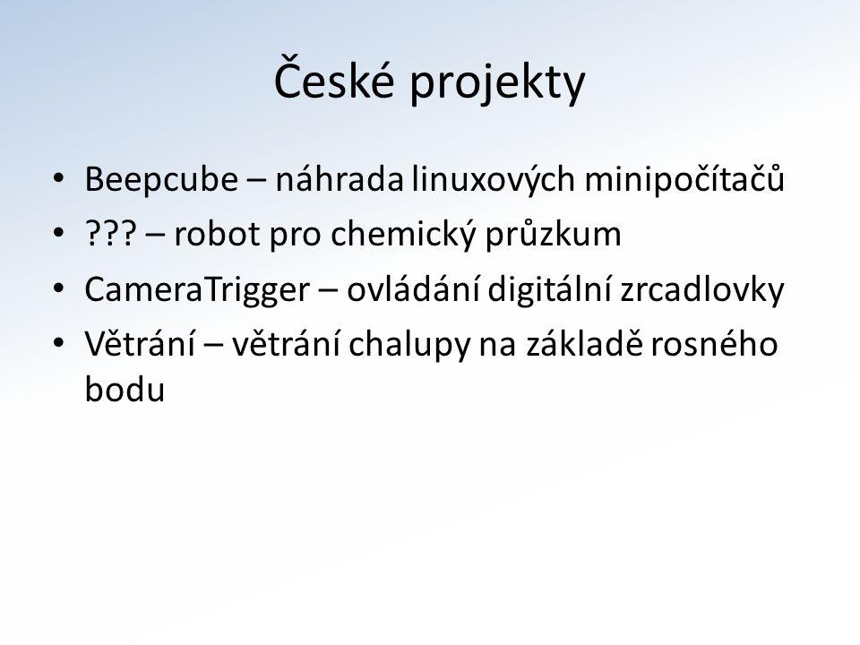 České projekty Beepcube – náhrada linuxových minipočítačů .
