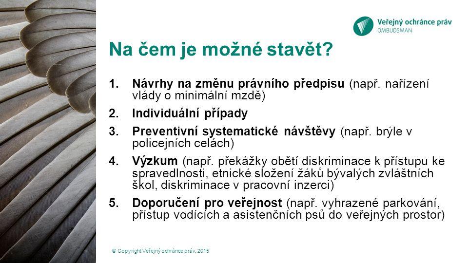 Děkuji za pozornost www.ochrance.cz frydkova@ochrance.cz © Copyright Veřejný ochránce práv, 2015